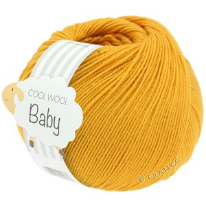 Lana Grossa COOL WOOL Baby 50g | 280-giallo zafferano