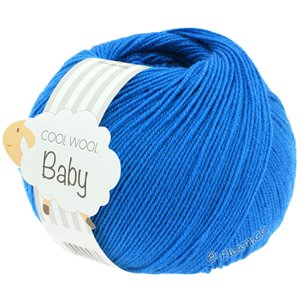 Lana Grossa COOL WOOL Baby 50g | 283-inchiostro blu