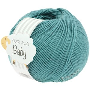 Lana Grossa COOL WOOL Baby 50g | 284-turchese menta