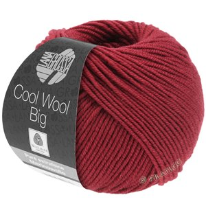 Lana Grossa COOL WOOL Big  Uni/Melange | 0989-rosso indiano