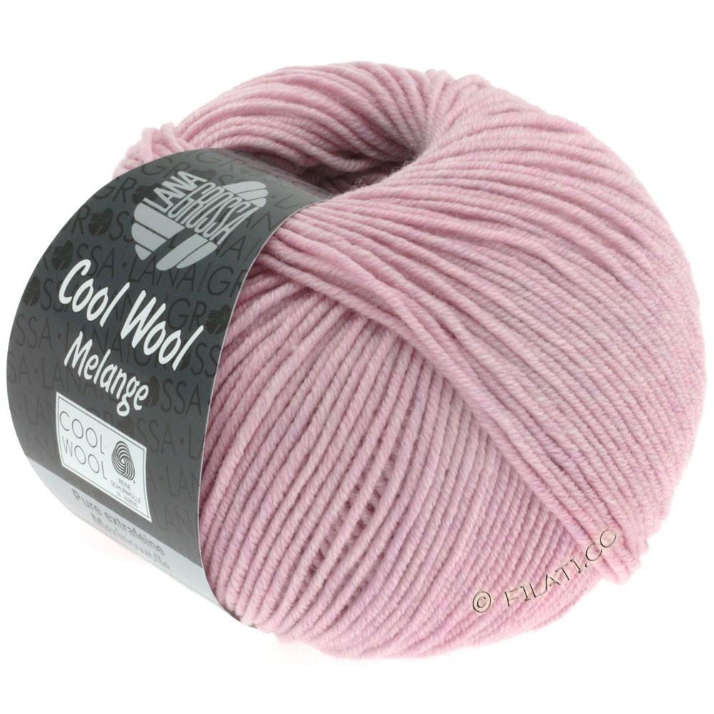 Lana Grossa COOL WOOL   Uni/Melange/Neon | 0134-rosa puntinato