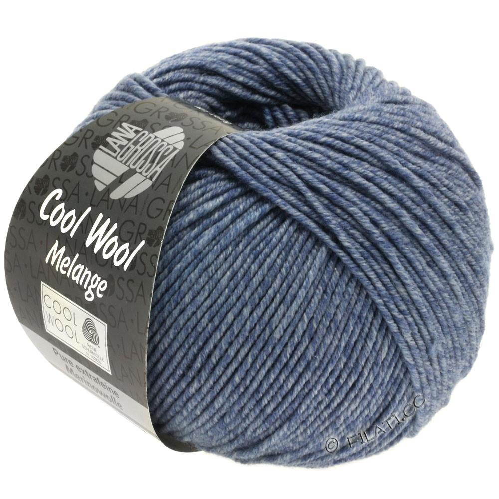 Lana Grossa COOL WOOL   Uni/Melange/Neon | 0141-blu colomba puntinato