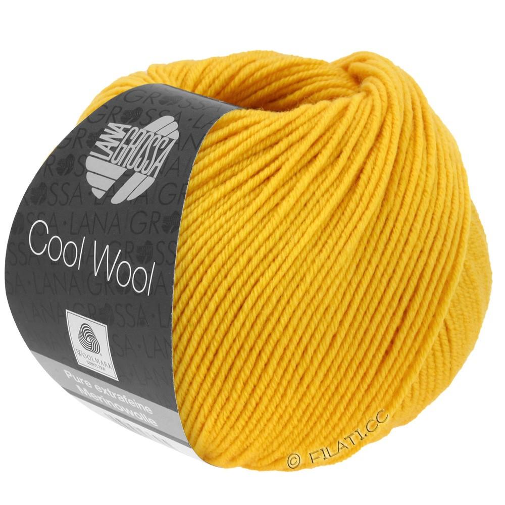 Lana Grossa COOL WOOL   Uni/Melange/Neon | 2005-giallo dorato