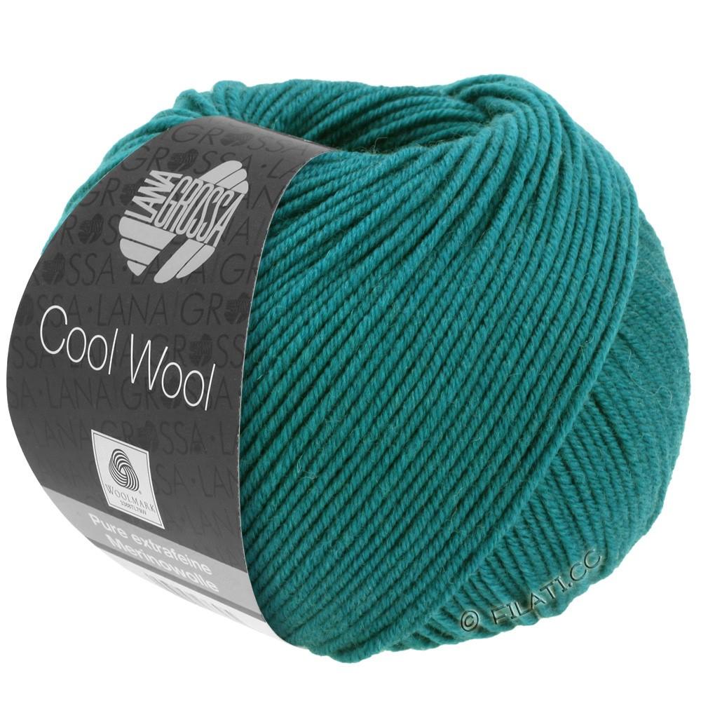 Lana Grossa COOL WOOL   Uni/Melange/Neon | 2015-verde ottanio