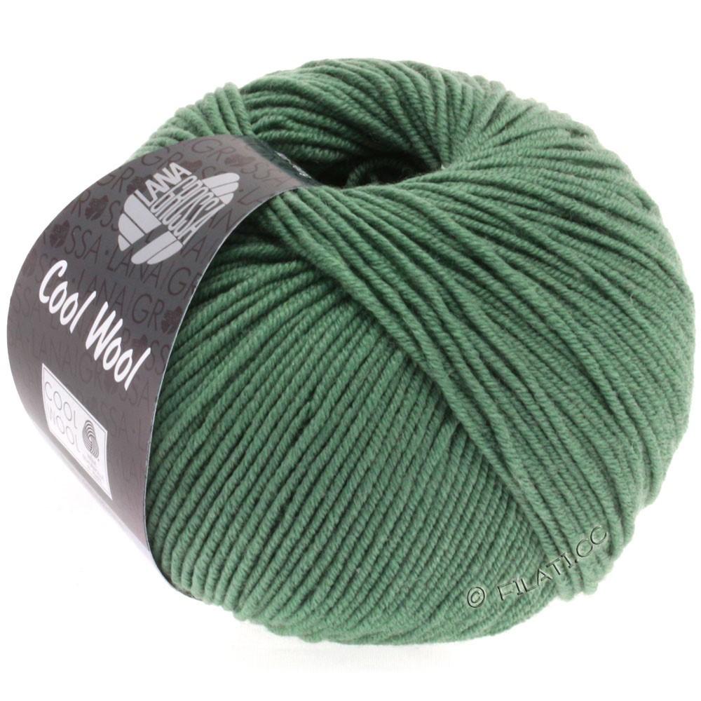 Lana Grossa COOL WOOL   Uni/Melange/Neon | 2021-grigio verde scuro