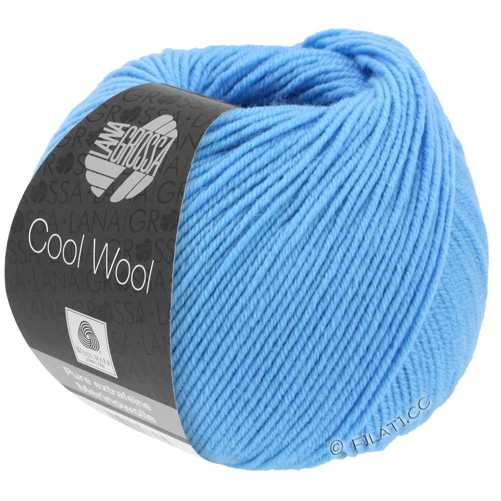 Lana Grossa COOL WOOL   Uni/Melange/Neon | 2031-azzurro