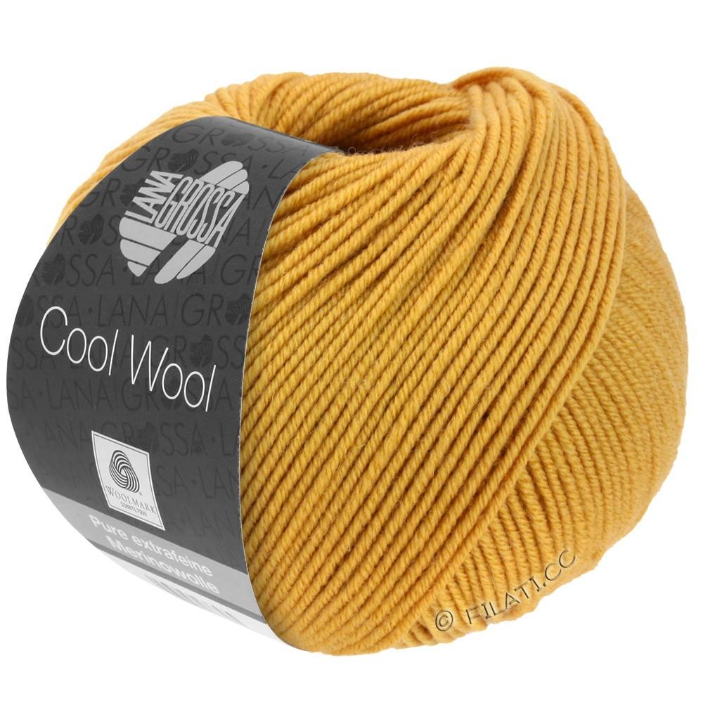 Lana Grossa COOL WOOL   Uni/Melange/Neon | 2035-giallo miele