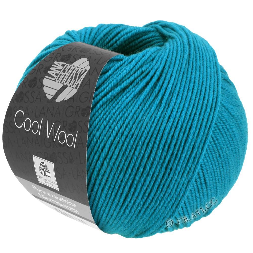 Lana Grossa COOL WOOL   Uni/Melange/Neon | 2036-blu azzurro