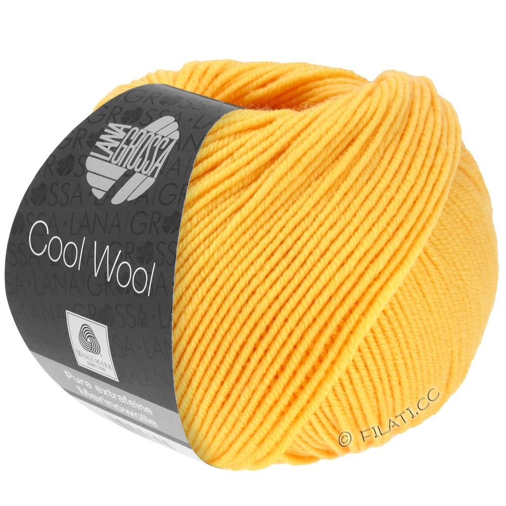 Lana Grossa COOL WOOL   Uni/Melange/Neon | 0419-giallo