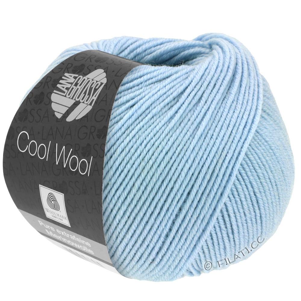 Lana Grossa COOL WOOL   Uni/Melange/Neon | 0430-blu chiaro