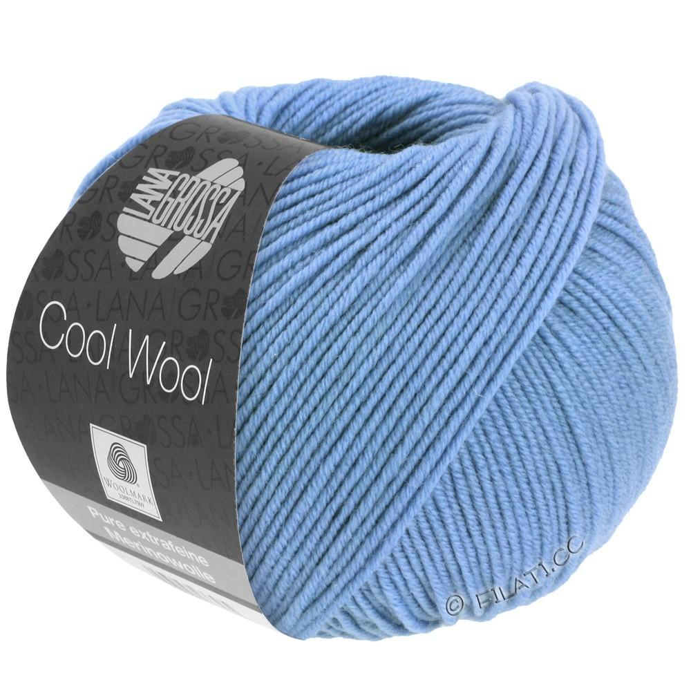 Lana Grossa COOL WOOL   Uni/Melange/Neon | 0463-fiordaliso