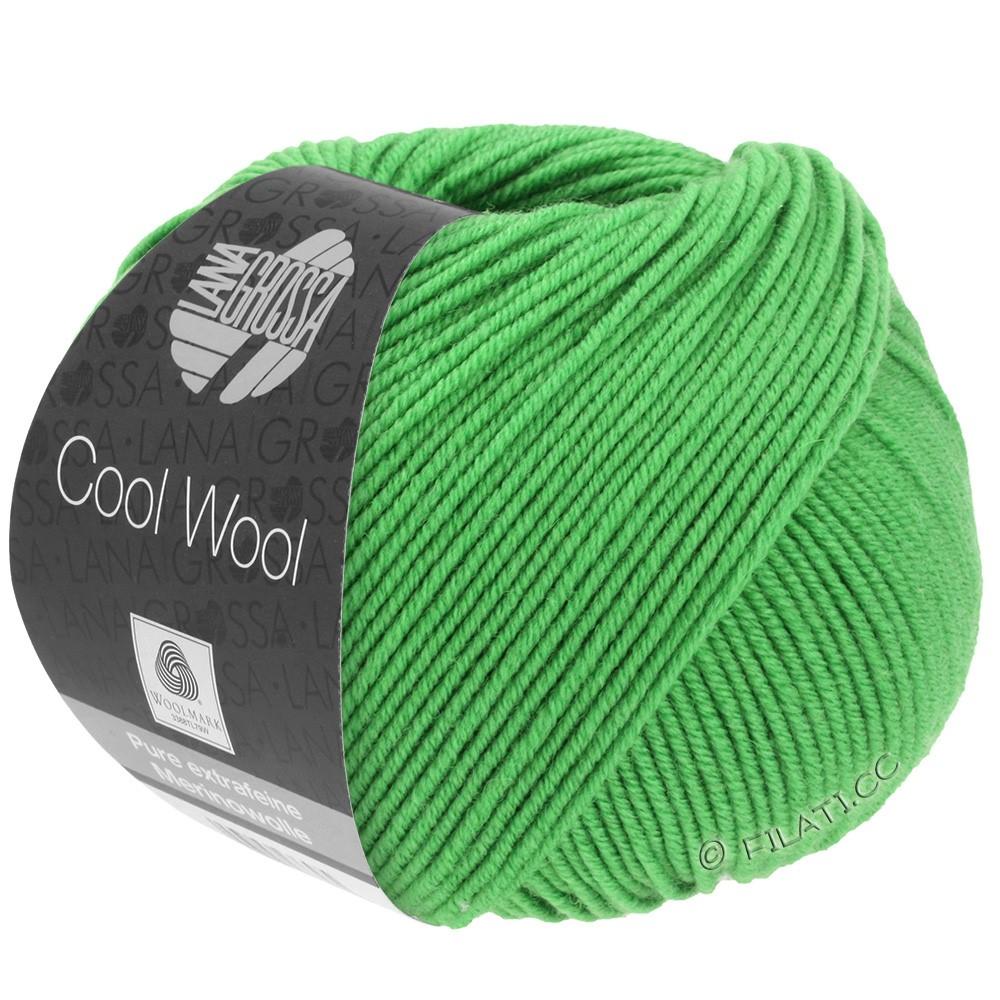 Lana Grossa COOL WOOL   Uni/Melange/Neon | 0504-mela verde