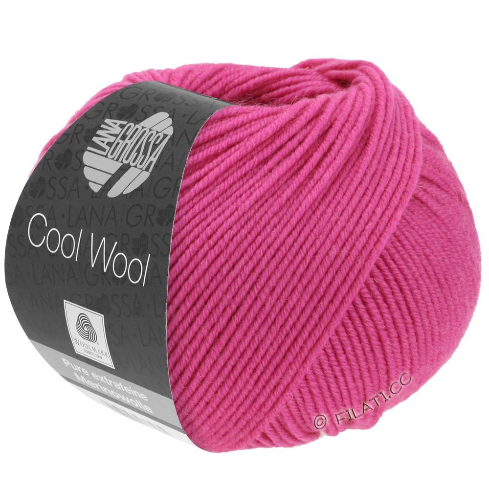 Lana Grossa COOL WOOL   Uni/Melange/Neon | 0537-ciclamino