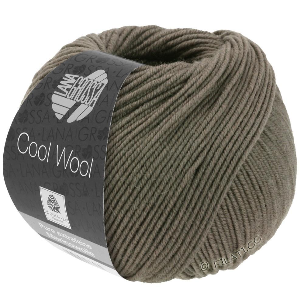 Lana Grossa COOL WOOL   Uni/Melange/Neon | 0558-grigio marrone