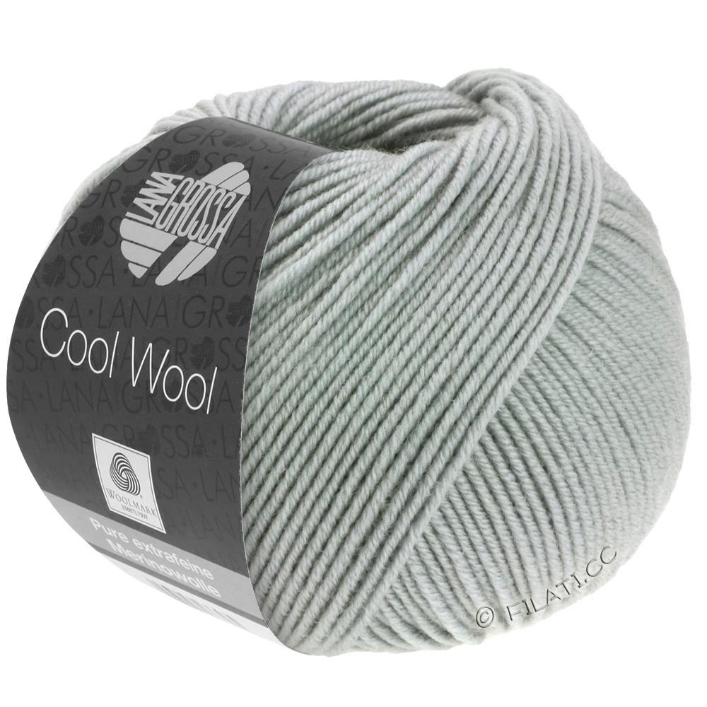 Lana Grossa COOL WOOL   Uni/Melange/Neon | 0589-grigio pietra