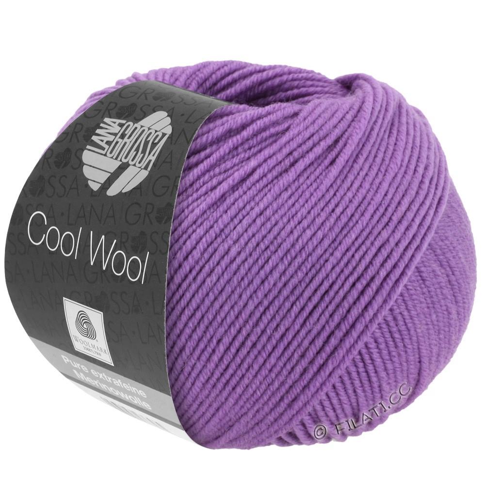 Lana Grossa COOL WOOL   Uni/Melange/Neon | 0592-lilla scuro
