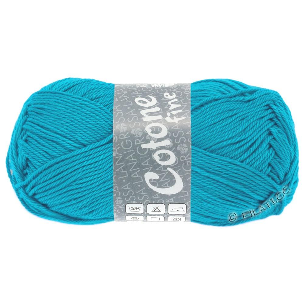 Lana Grossa COTONE FINE | 610-blu turchese