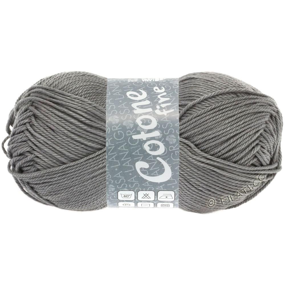 Lana Grossa COTONE FINE | 619-grigio scuro