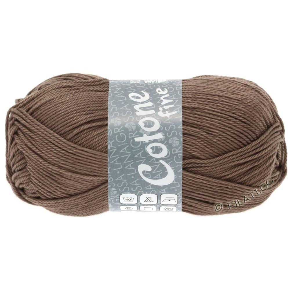 Lana Grossa COTONE FINE | 630-grigio marrone