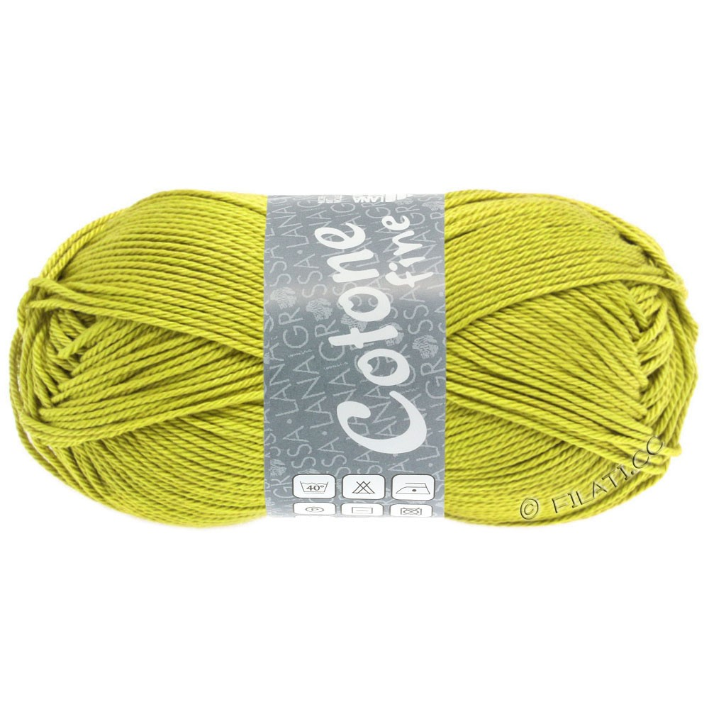 Lana Grossa COTONE FINE | 653-senape