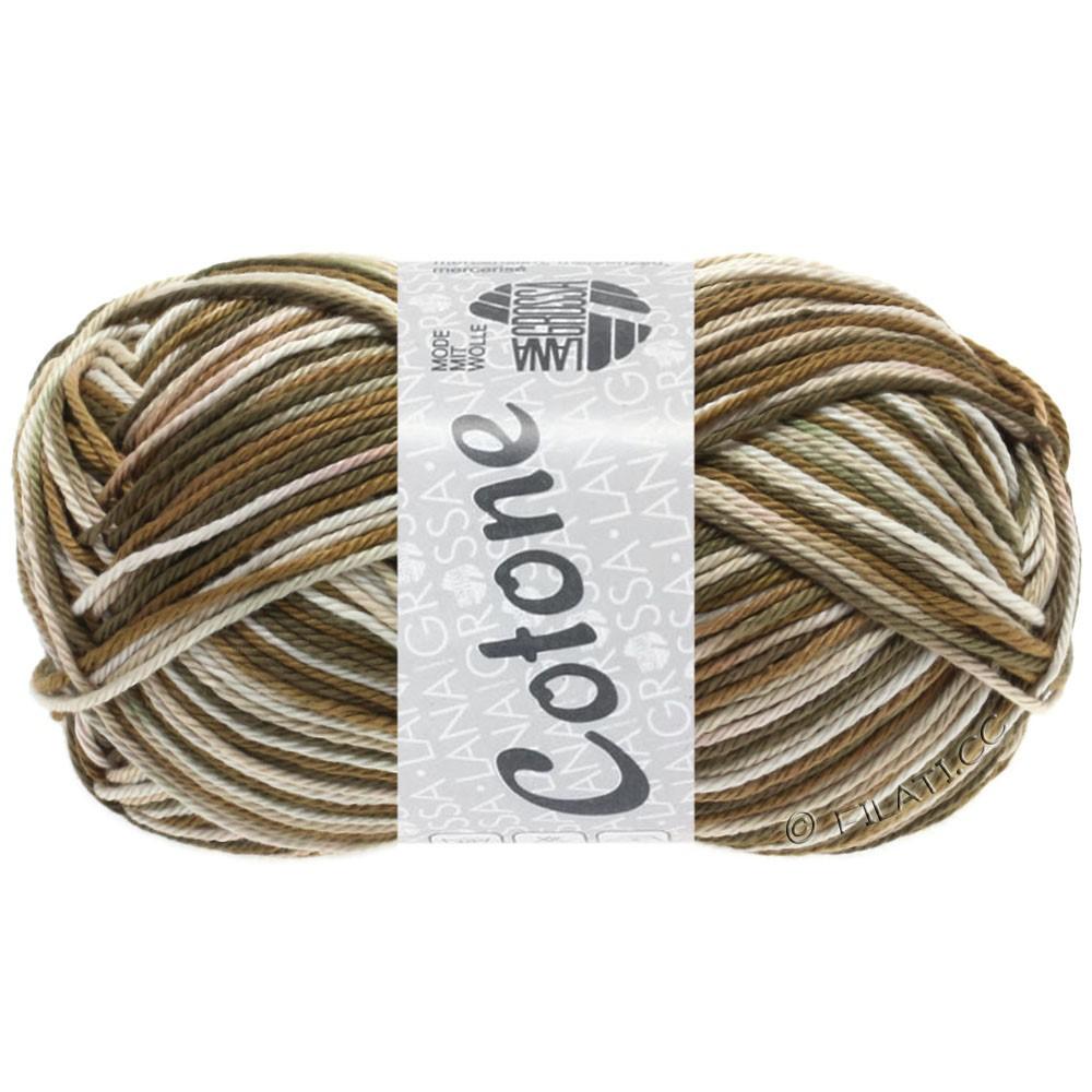 Lana Grossa COTONE  Print/Denim | 328-beige/marrone/grigio marrone