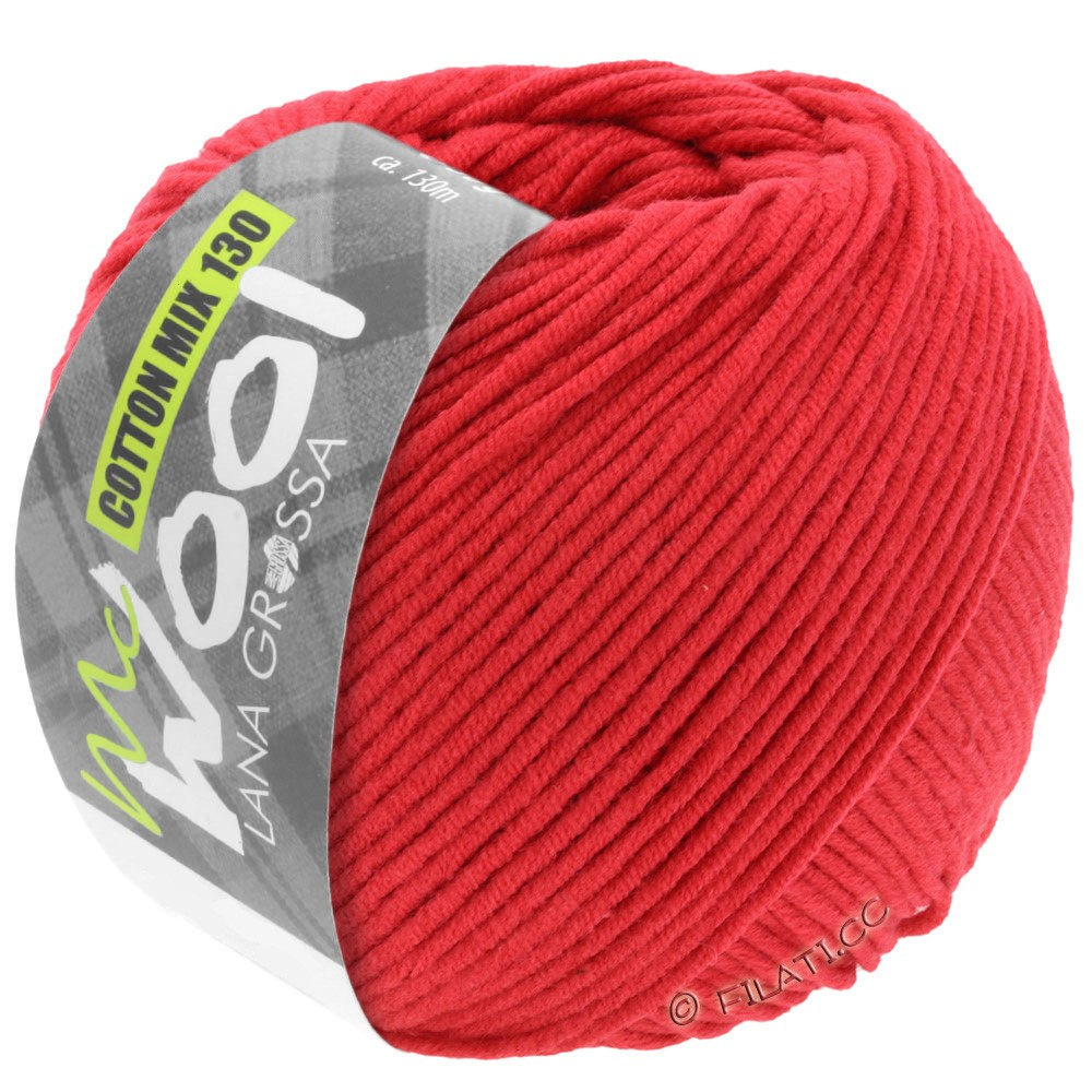 Lana Grossa COTTON MIX 130 (McWool) | 103-rosso