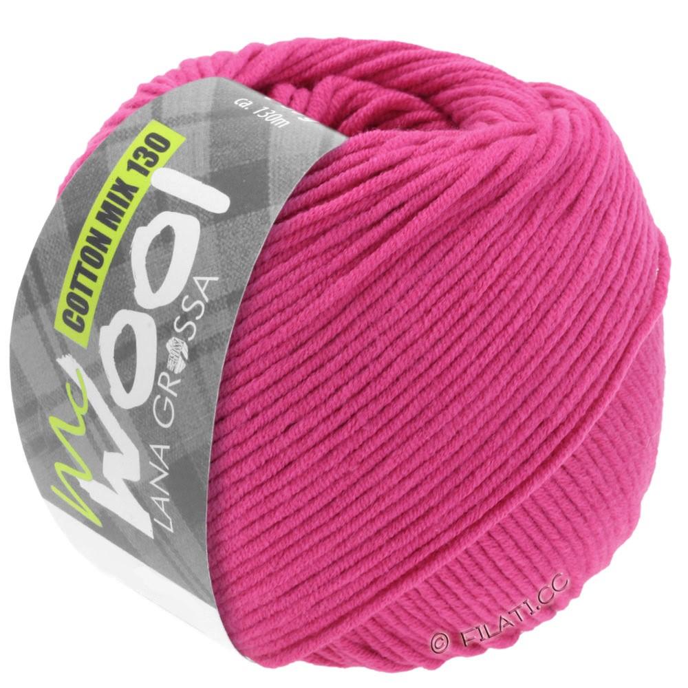 Lana Grossa COTTON MIX 130 (McWool) | 105-rosa vivo