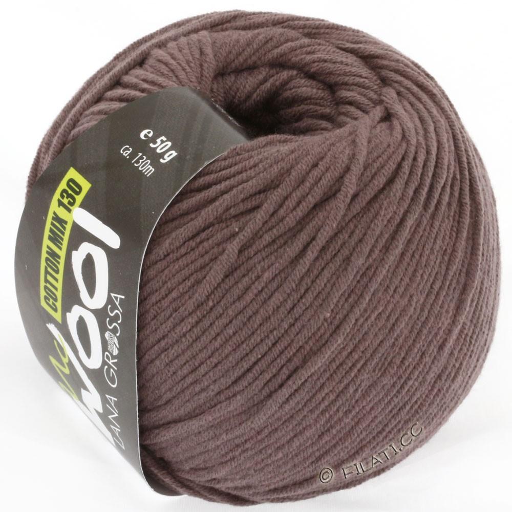 Lana Grossa COTTON MIX 130 (McWool) | 114-grigio marrone
