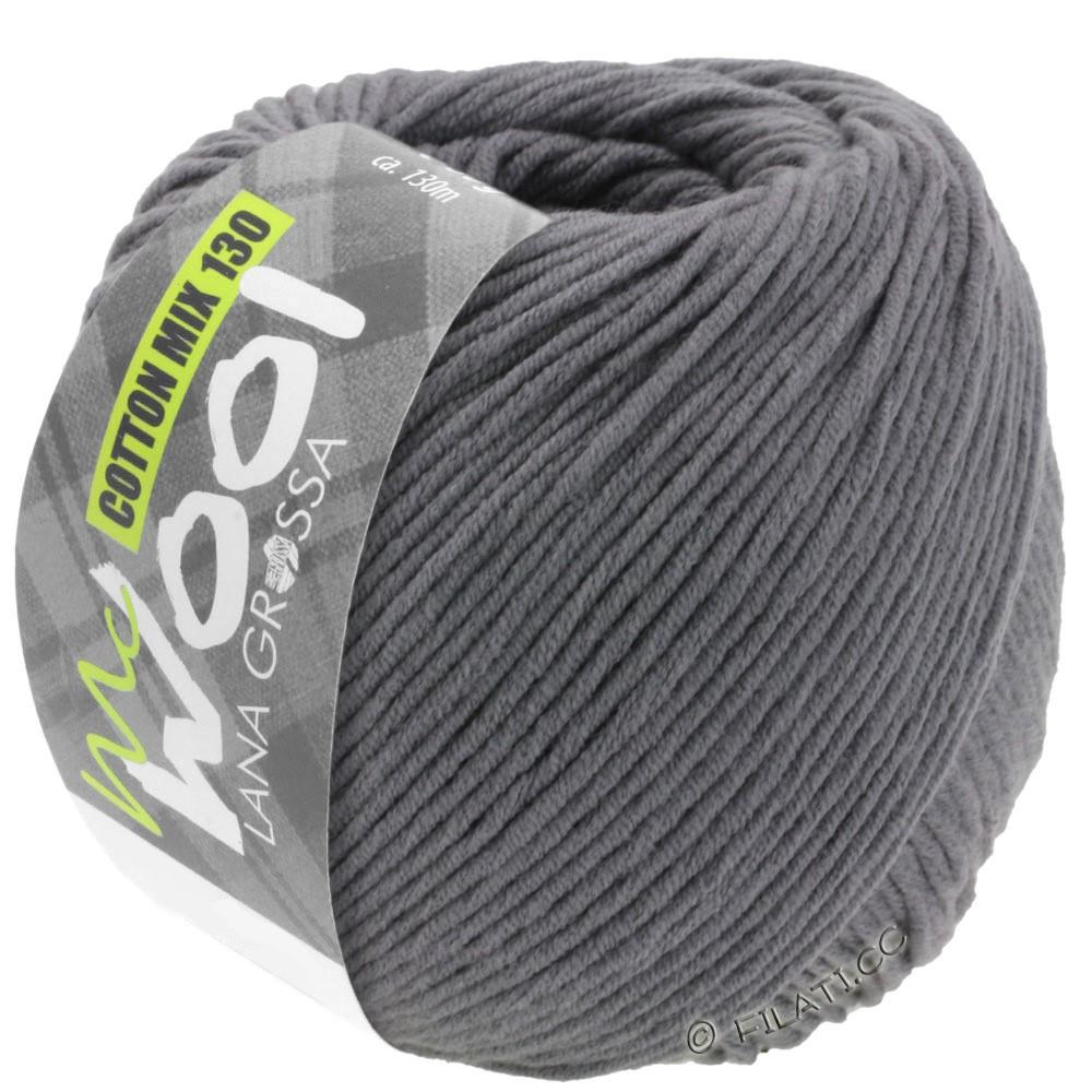 Lana Grossa COTTON MIX 130 (McWool) | 115-grigio scuro