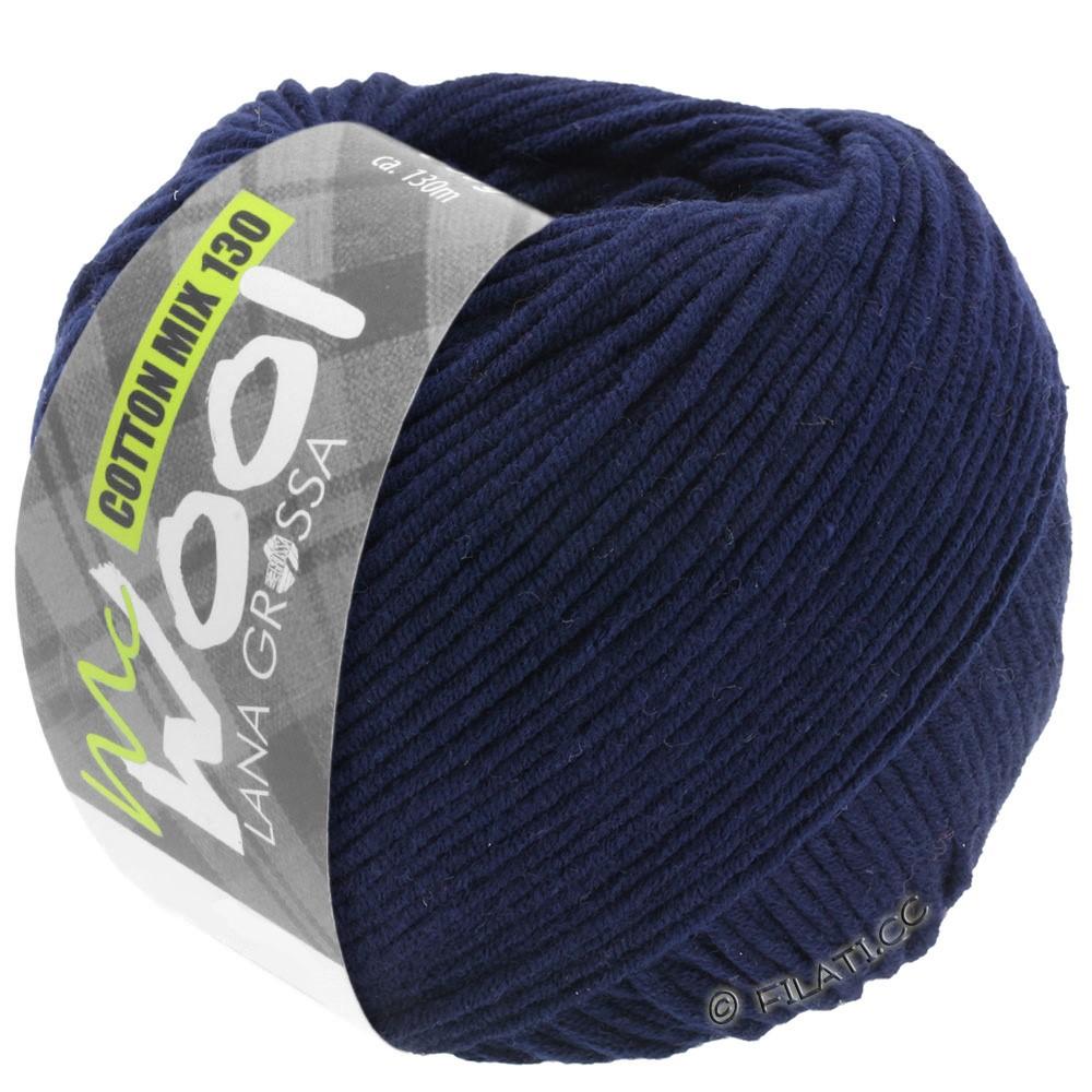 Lana Grossa COTTON MIX 130 (McWool) | 117-blu notte