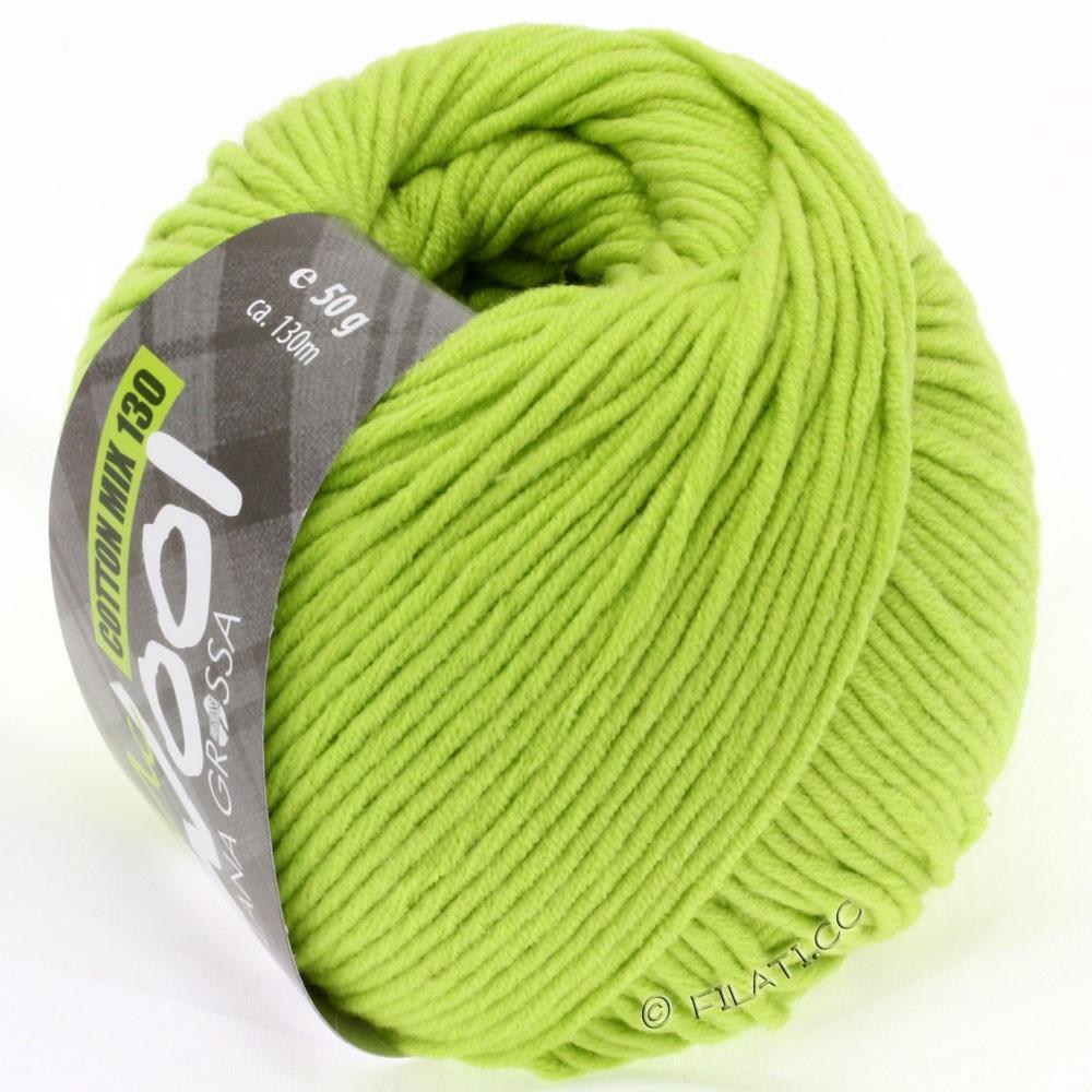 Lana Grossa COTTON MIX 130 (McWool) | 119-verde giallo