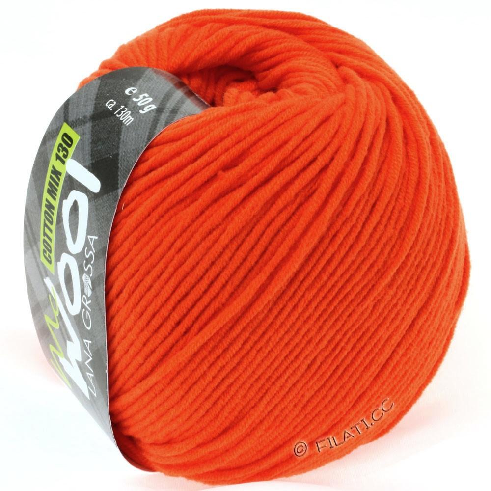 Lana Grossa COTTON MIX 130 (McWool) | 125-mandarino