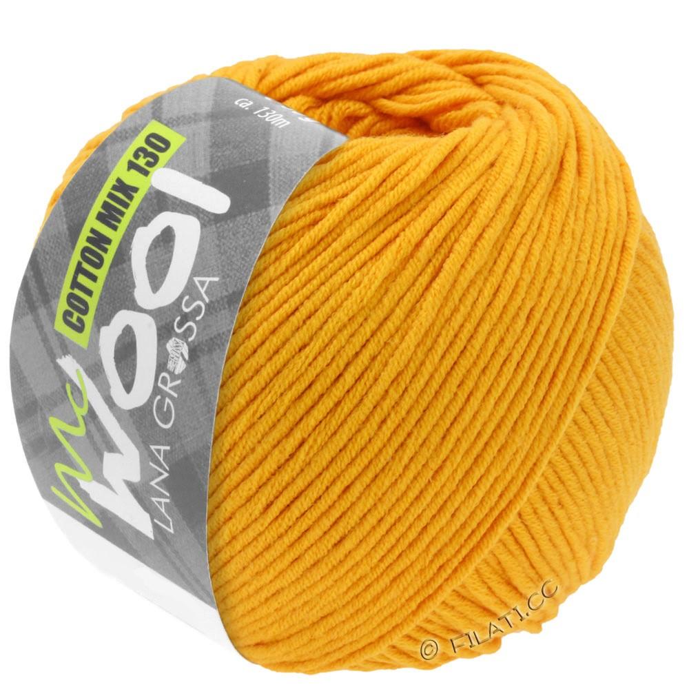 Lana Grossa COTTON MIX 130 (McWool) | 127-giallo mais