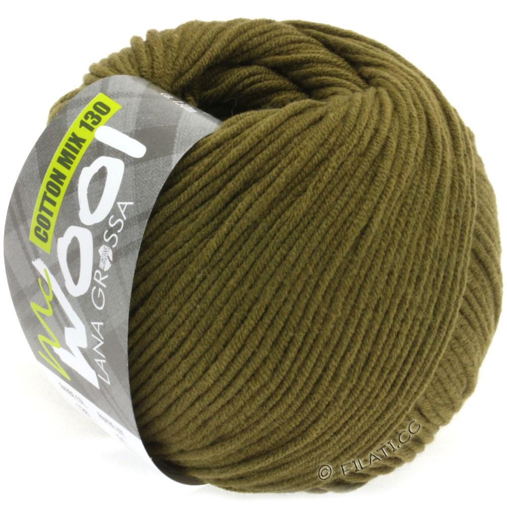 Lana Grossa COTTON MIX 130 (McWool) | 128-oliva