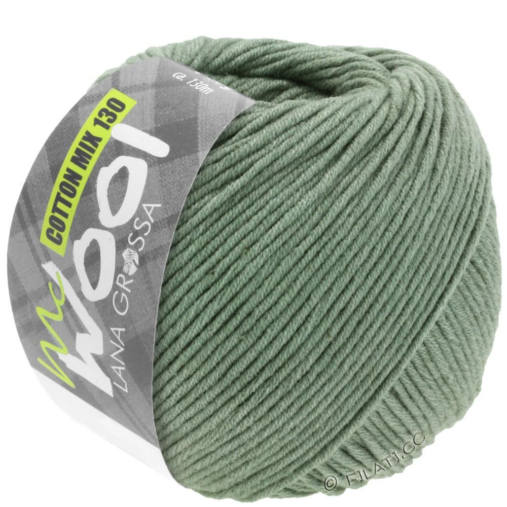 Lana Grossa COTTON MIX 130 (McWool) | 129-verde grigio