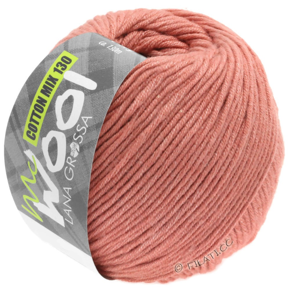 Lana Grossa COTTON MIX 130 (McWool) | 141-rosso rame