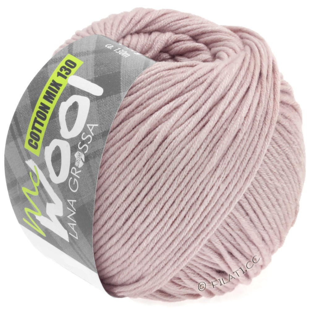 Lana Grossa COTTON MIX 130 (McWool) | 146-lilla delicata