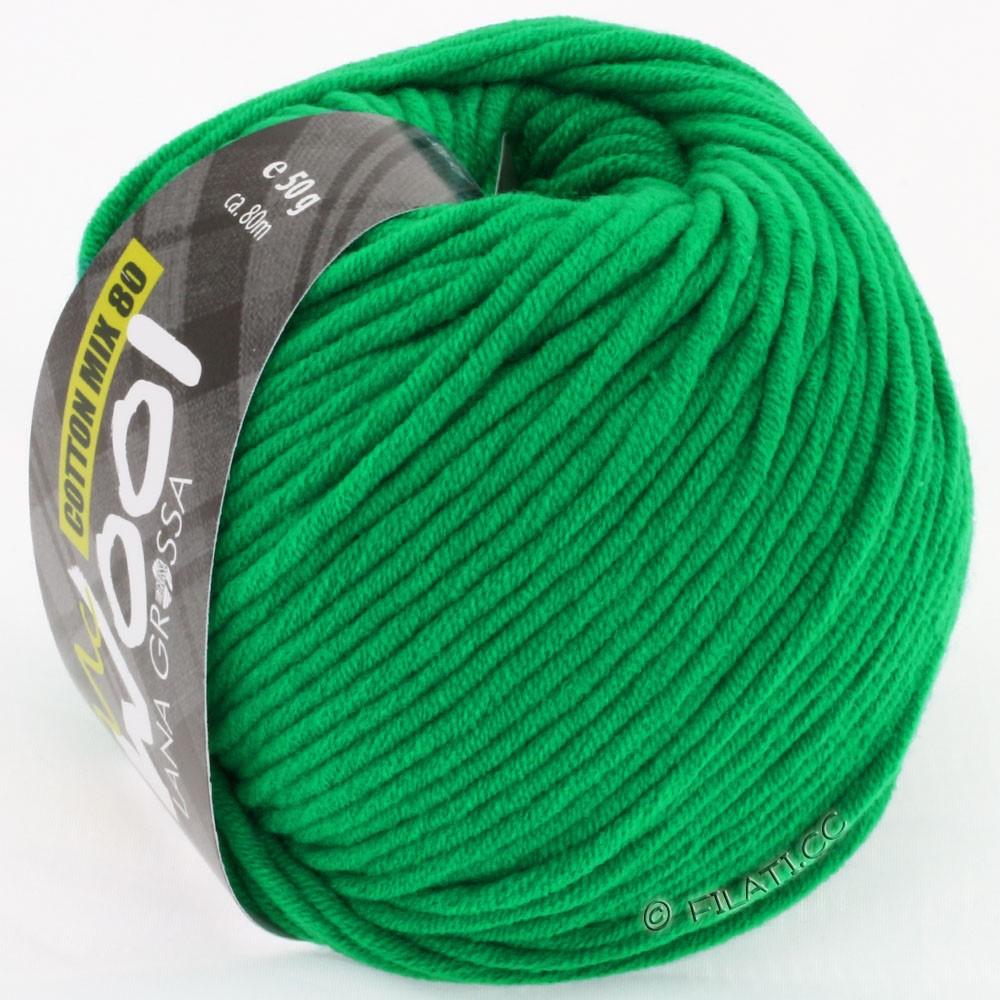 Lana Grossa COTTON MIX 80 (McWool)   510-verde segnale