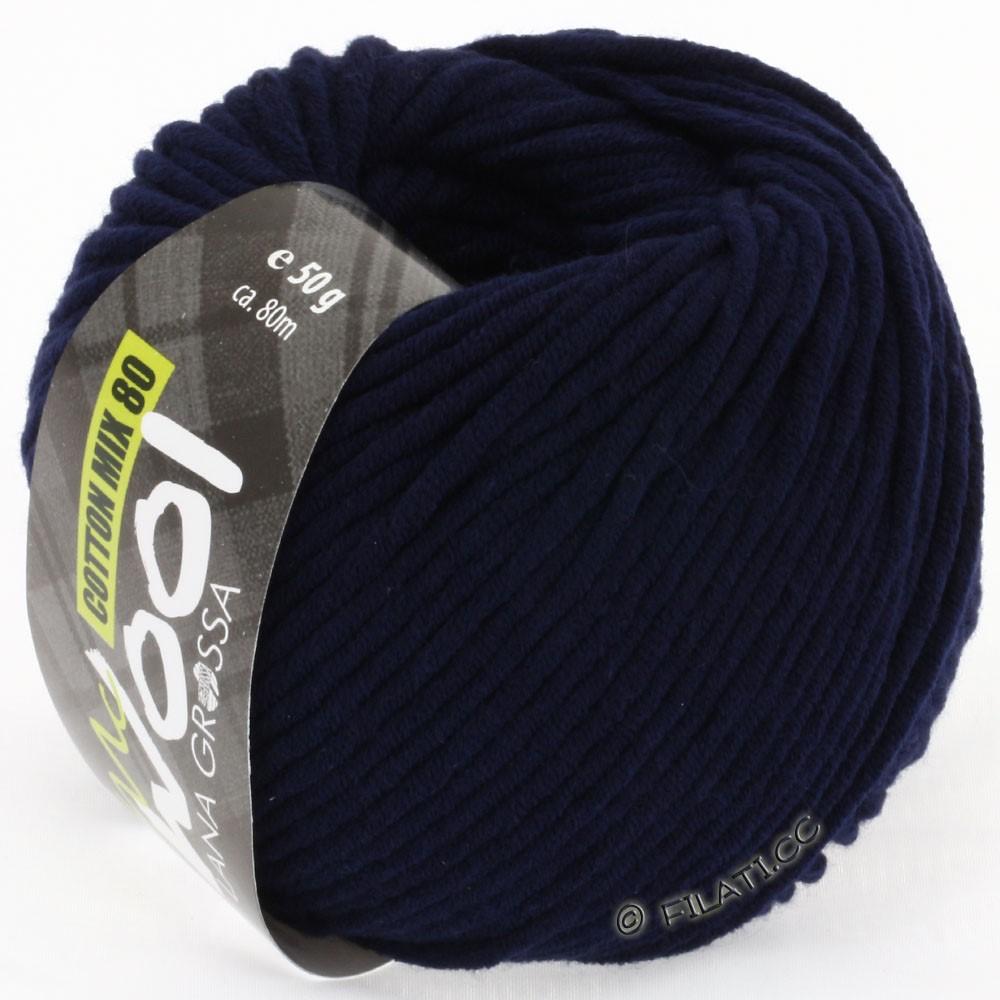 Lana Grossa COTTON MIX 80 (McWool)   517-blu notte