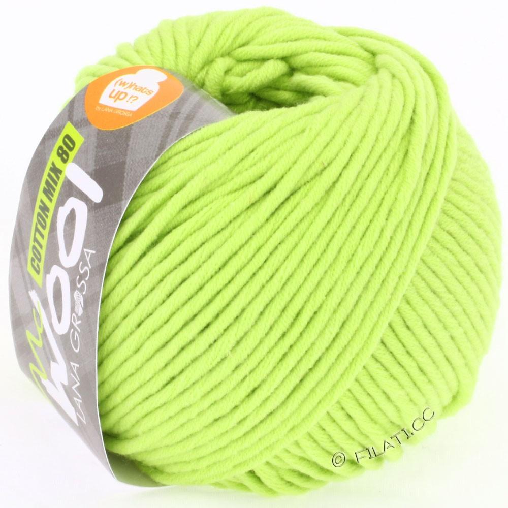 Lana Grossa COTTON MIX 80 (McWool)   519-verde giallo