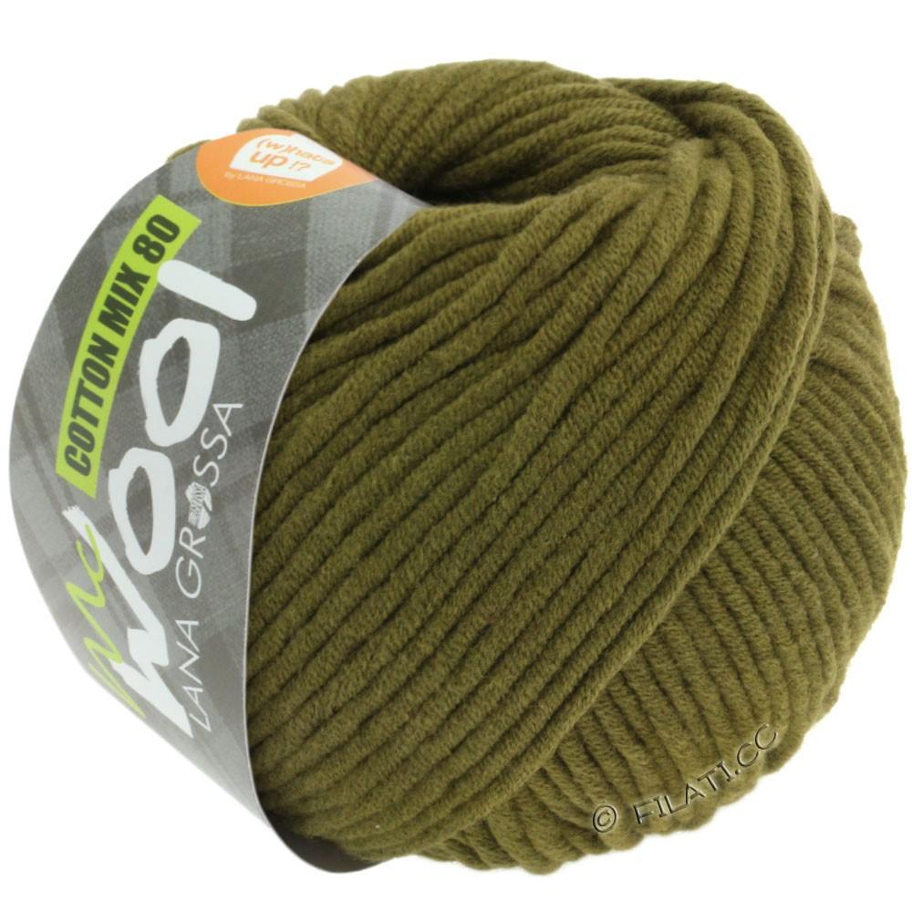 Lana Grossa COTTON MIX 80 (McWool)   528-oliva