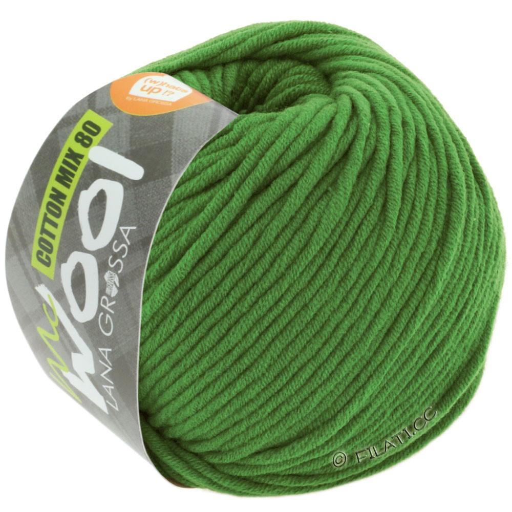 Lana Grossa COTTON MIX 80 (McWool)   535-verde erba