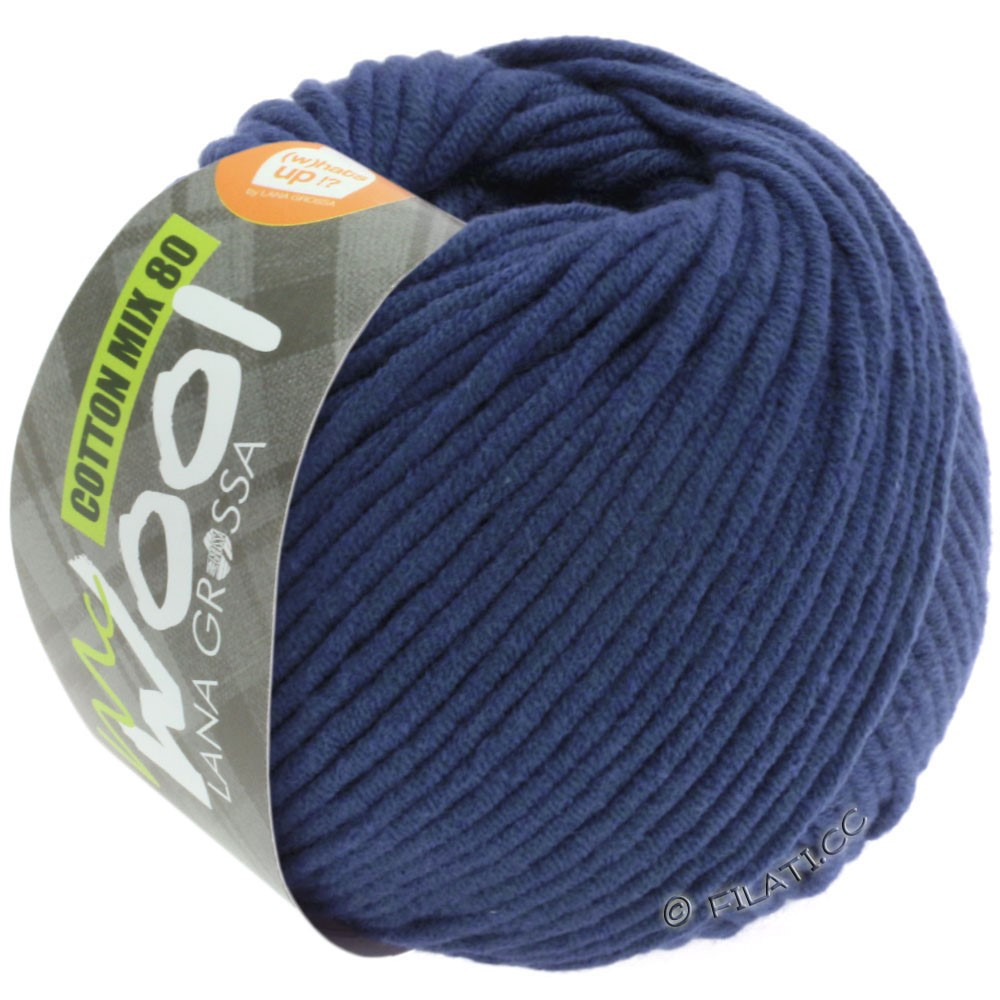 Lana Grossa COTTON MIX 80 (McWool)   538-reale