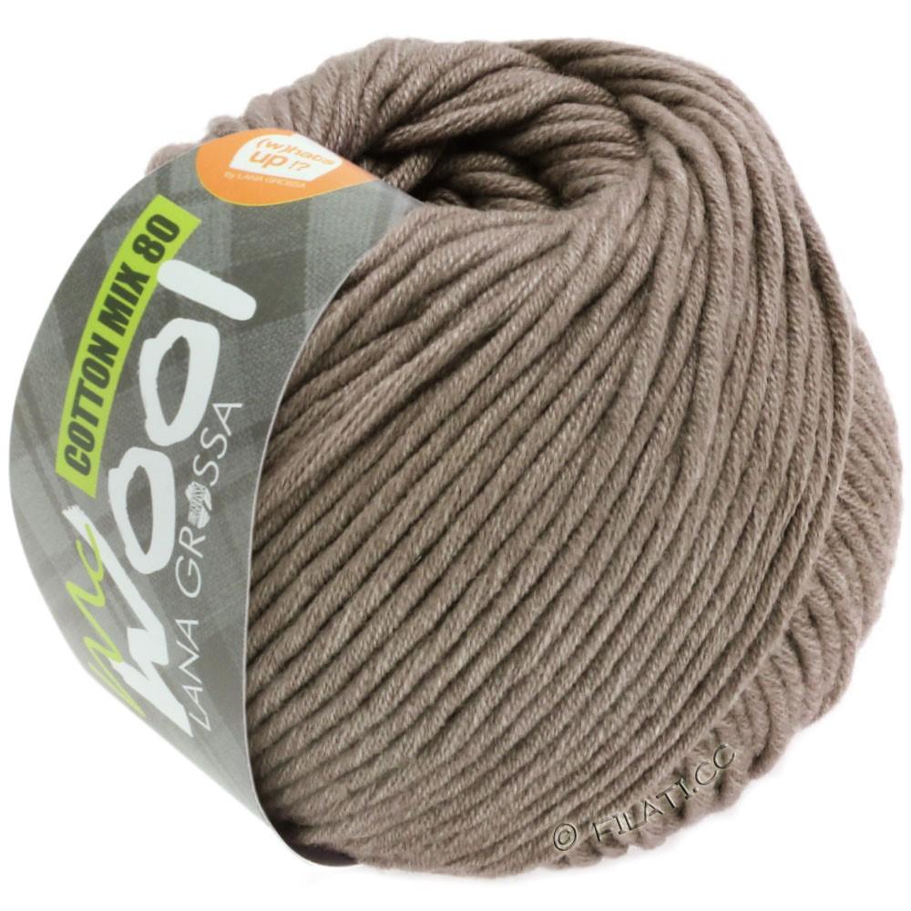 Lana Grossa COTTON MIX 80 (McWool)   544-marrone beige