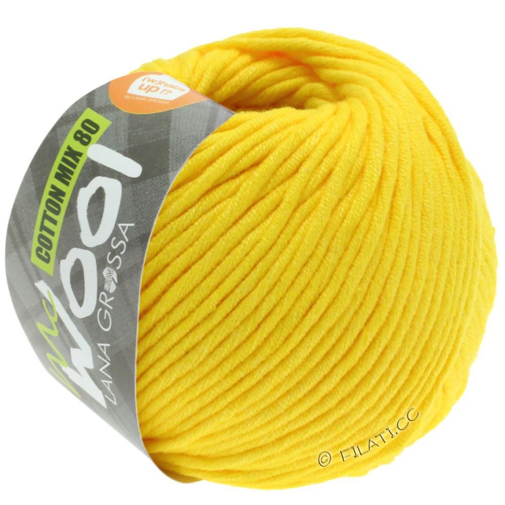 Lana Grossa COTTON MIX 80 (McWool)   551-giallo