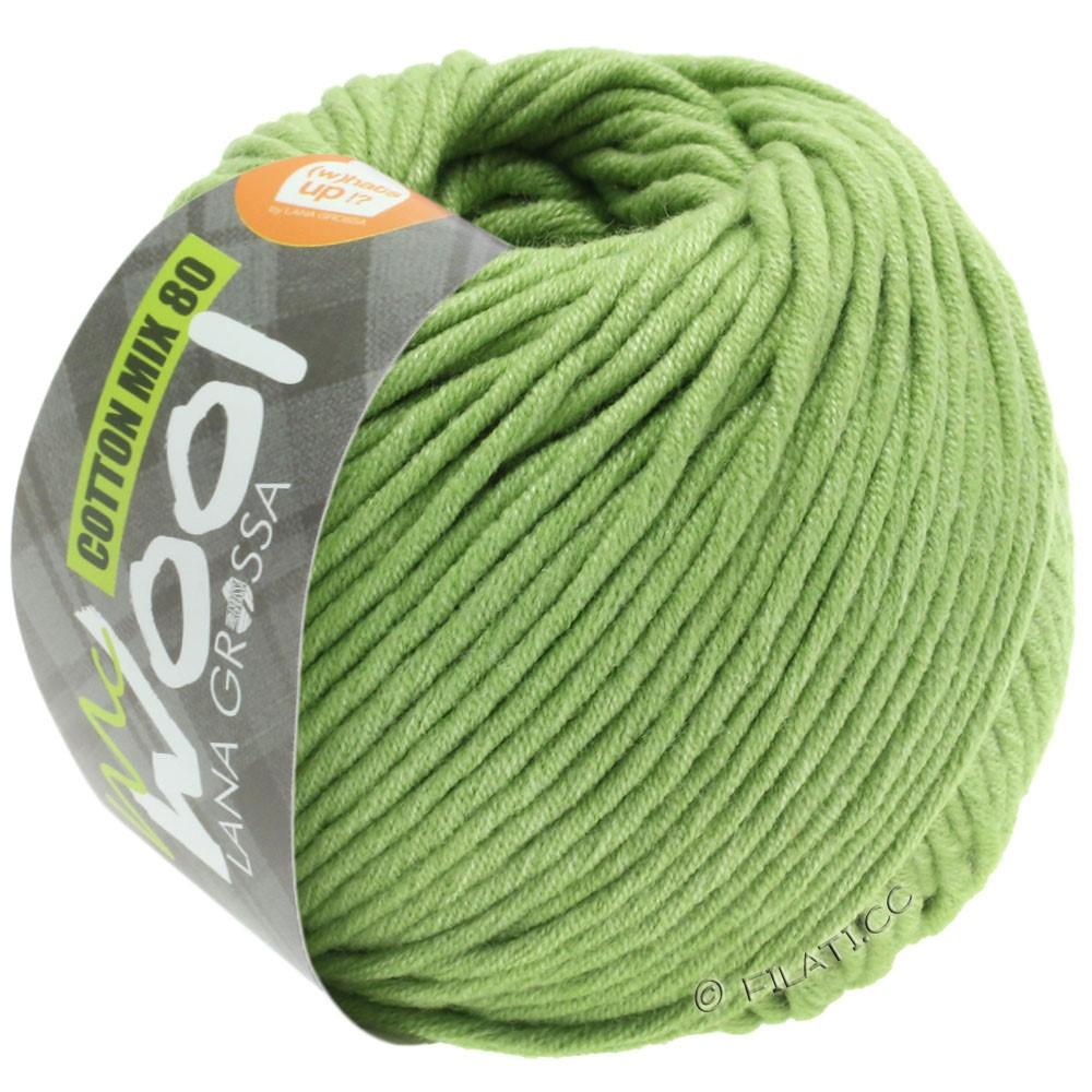Lana Grossa COTTON MIX 80 (McWool)   552-verde lime