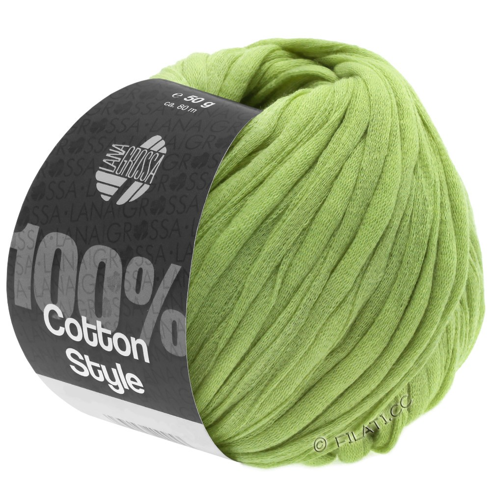Lana Grossa COTTON STYLE | 23-verde lime