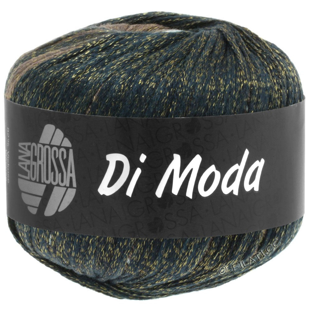 Lana Grossa DI MODA | 08-grigio verde/grigio blu/jeans/marrone noce/moca