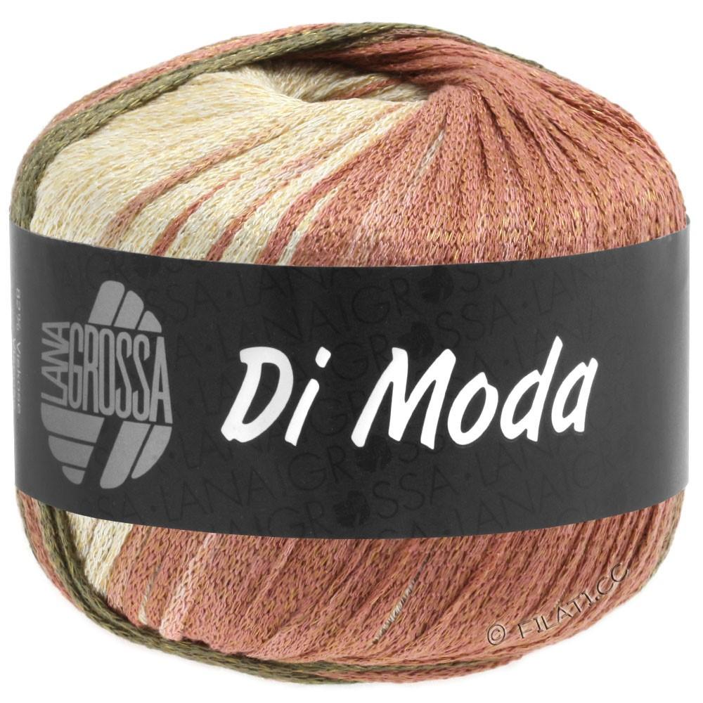 Lana Grossa DI MODA | 15-terracotta/oliva scuro/cachi marrone