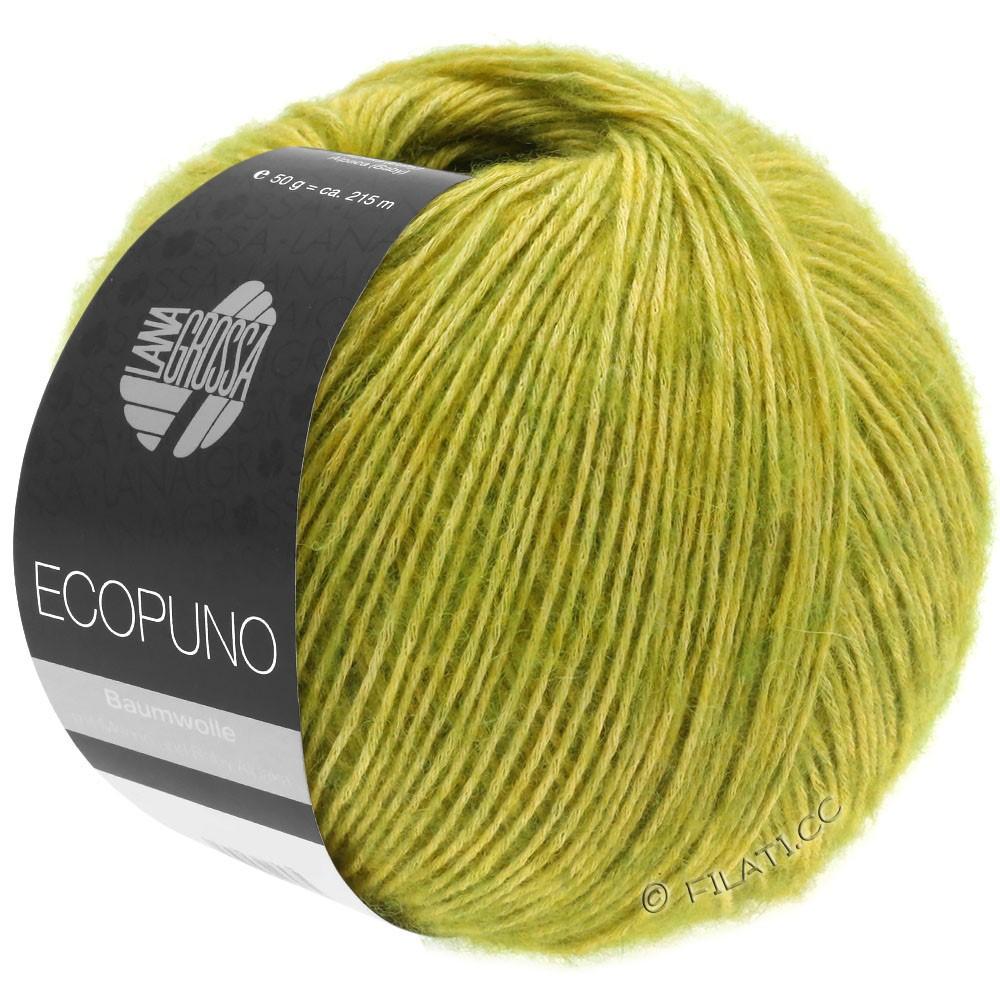 Lana Grossa ECOPUNO | 03-verde giallo